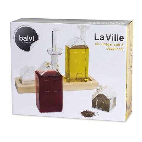 Набор для специй и масла La Ville