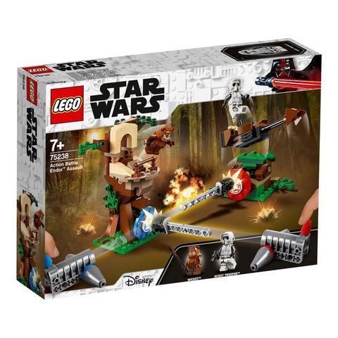 LEGO Star Wars: Нападение на планету Эндор 75238 — Action Battle Endor Assault — Лего Звездные войны Стар Ворз