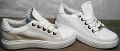 Купить кроссовки белые женские Molly shoes 557 Whate