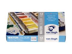 Набор акварельных красок Van Gogh - 12 цветов в кюветах по 5мл