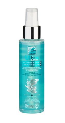 Белита М Ultra marine Спрей-термозащита для всех типов волос Несмываемый 120мл