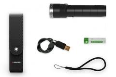 Фонарь светодиодный LED Lenser MT10, 1000 лм., аккумулятор
