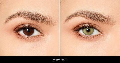 Зеленые линзы Desio WILD GREEN