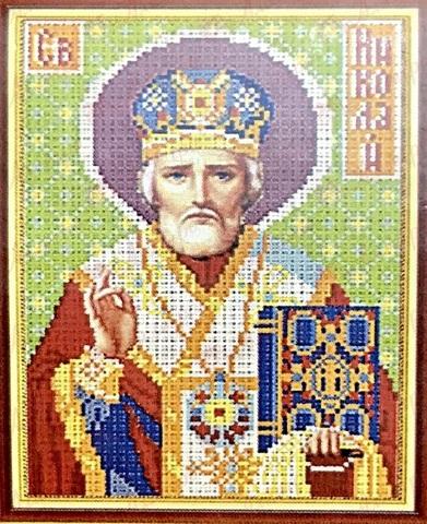 Алмазная Мозаика 28x22 Святой Николай Чудотворец (арт. MN20151)