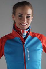Женский разминочный жилет Nordski Premium Blue-Red Женский
