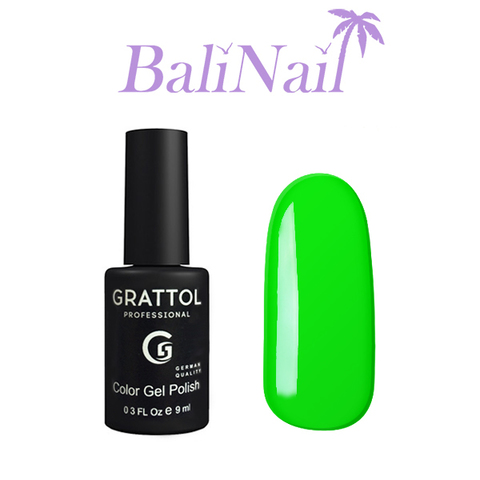 Grattol Color Gel Polish Lime - гель-лак 037, 9 мл
