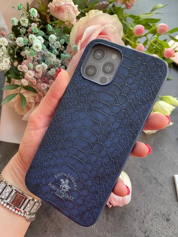 Чехол iPhone 12 Pro /6,1''/ Polo Knight Case /blue/