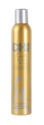Лак для волос сильной фиксации с кератином / CHI Keratin Flexible Hold Hairspray 284г
