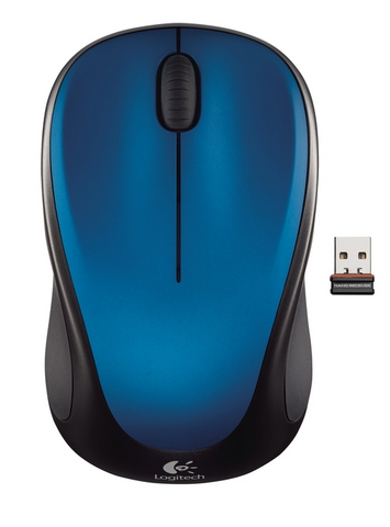 LOGITECH M235 Wireless Steel Blue