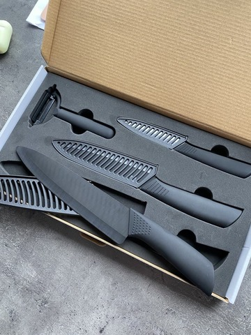 xiaomi набор ножей huo hou nano ceramic knifes set
