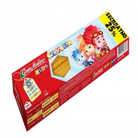 Макаронные изделия Granmulino Kids спагетти 400г