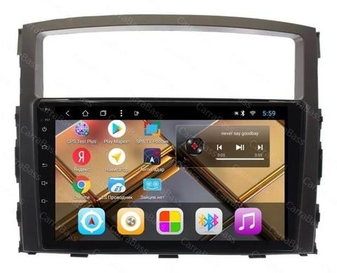 Магнитола для Mitsubishi Pajero 4 (2007-2018)Android 9.0 2/32GB модель CB 3046T8
