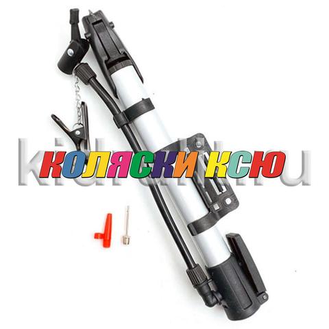 Насос ручной для детской коляски (27х280мм) №008159