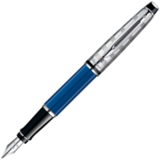 Waterman Expert 3 DeLuxe Obsession Blue CT перо F (1904580)