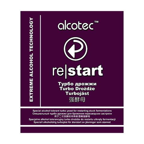 Турбо дрожжи Alcotec Distillers strain ReStart для дображивания браги