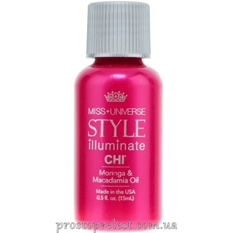 Chi Style Illuminate Moringa&Macadamia Oil - Масло для волосся