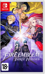 Fire Emblem: Three Houses (Nintendo Switch, английская версия)