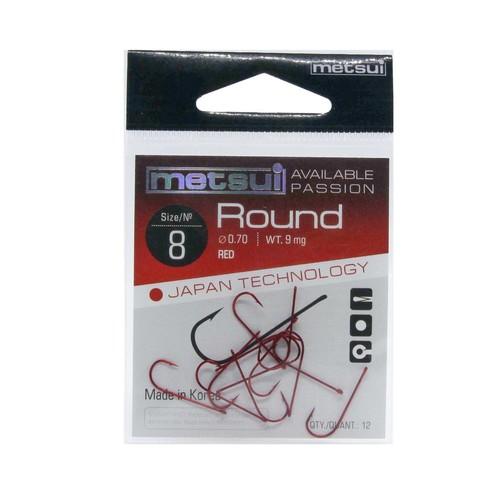 Крючки Metsui Round red № 8
