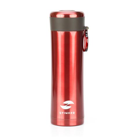 Термокружка красный металлик (0,42 л) STINGER HW-420-32-7620
