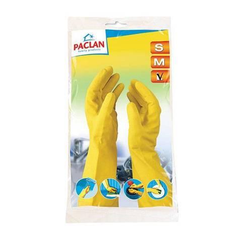 Перчатки резин. х/б напыл. PACLAN PROFESSIONAL размер L