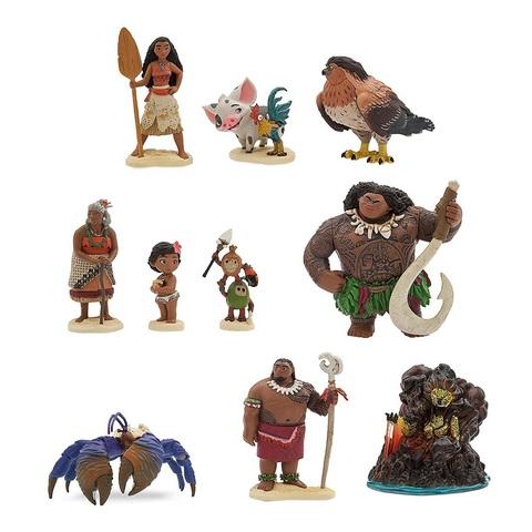 Дисней Моана Игровой набор из 10 фигурок