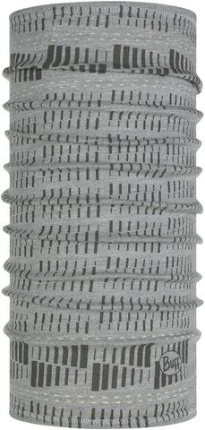 Тонкий шерстяной шарф-труба Buff Wool lightweight Relay Light Grey фото 1