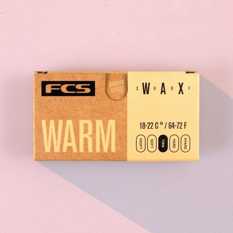 Вакса FCS Surf Wax Warm 18-22°C