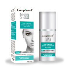 Детокс-концентрат для лица Compliment Skin Care Lab Освежающий (60 мл)