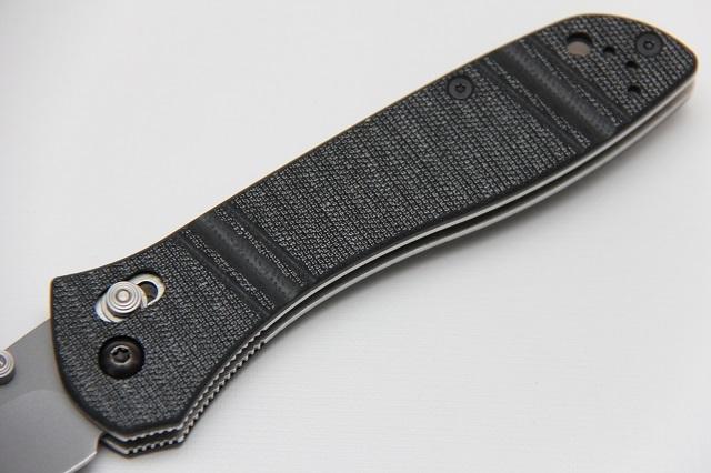Нож Benchmade 710-3 CPM-M4 McHenry Williams - фотография