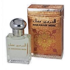 Духи натуральные масляные HARAMAIN MUSK/ Харамайн мускус / унисекс / 15мл / ОАЭ/Al Haramain