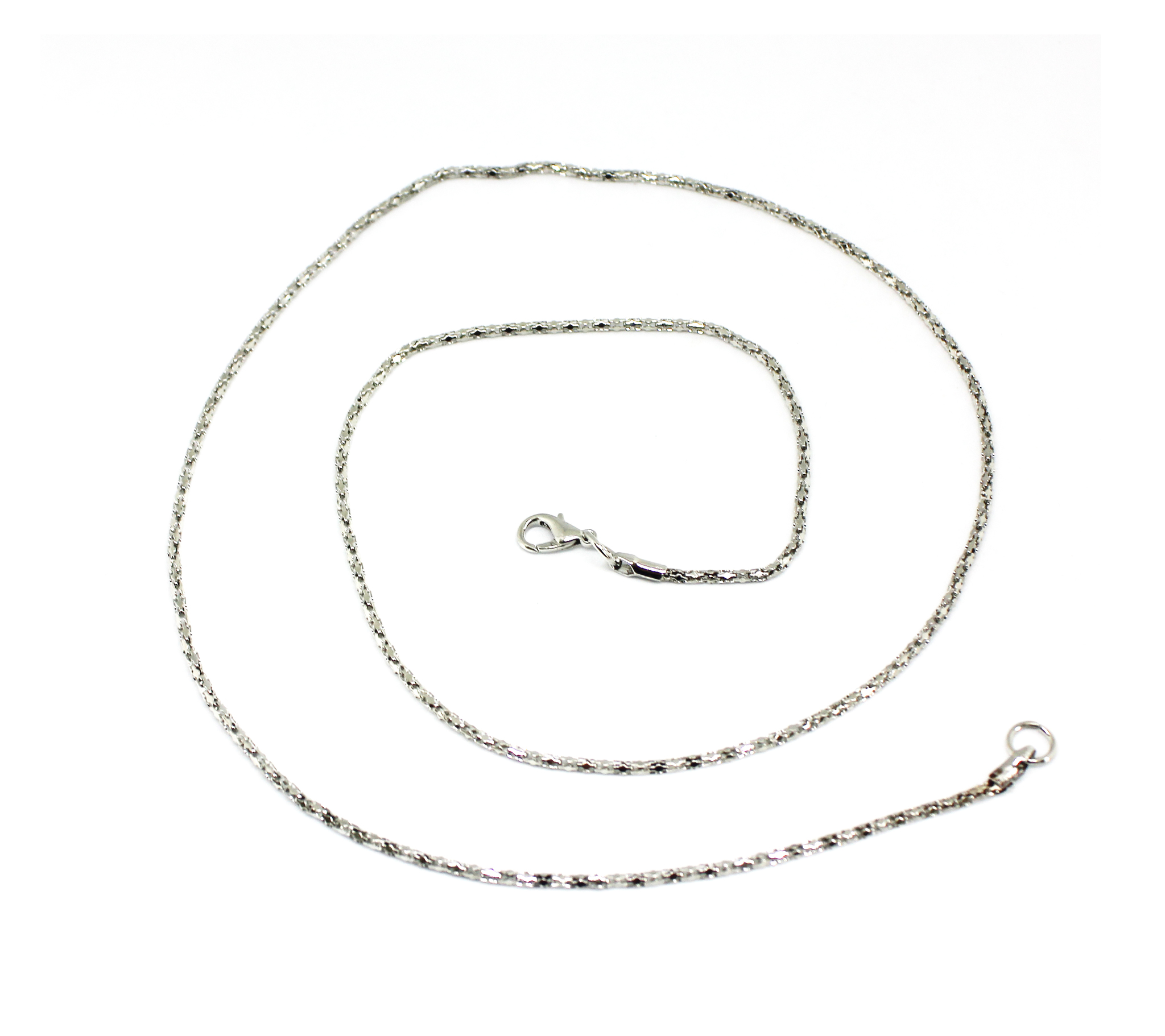 цепочка фигурная серебро