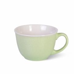 6080 FISSMAN Кружка 500мл, цвет Зеленый (керамика)