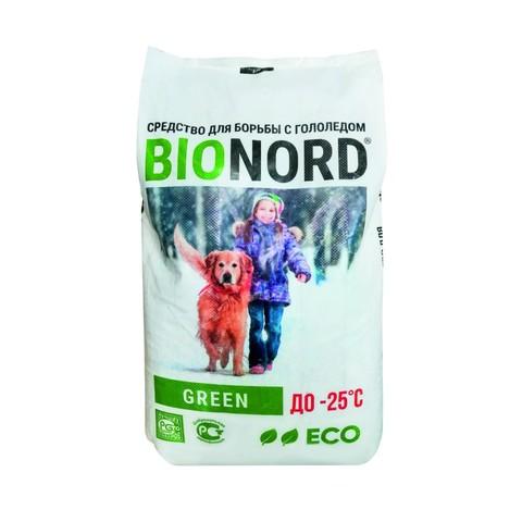 Реагент противогололедный Бионорд Грин – 25С 12кг
