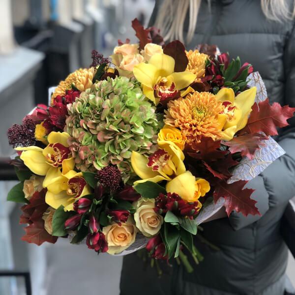 Букет цветов 391