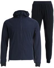 Беговой непромокаемый костюм Gri Джеди 2.0 темно-синий