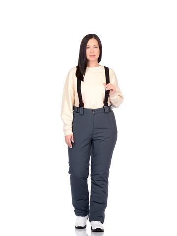 Горнолыжные женские брюки BATEBEILE серого цвета.