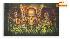 Флаг 'Skull Made Of Skulls'