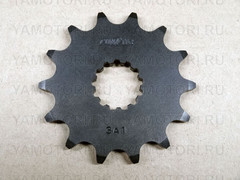 Звезда передняя (ведущая) Sunstar 3A114 JTF1565 для мотоцикла Kawasaki  14 зубьев