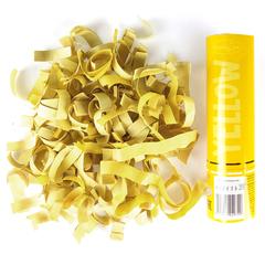 Пневмохлопушка Желтое конфетти AC 20см