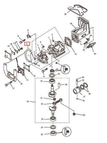Топливопровод  для лодочного мотора T2,5 SEA-PRO (2-6)