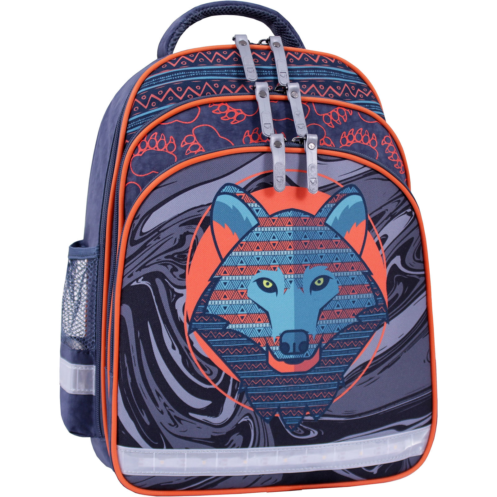 Рюкзак школьный Bagland Mouse 321 серый 509 (0051370) фото 1