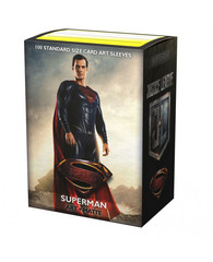 Dragon Shield - Матовые протекторы Justice League - Superman (100 штук)