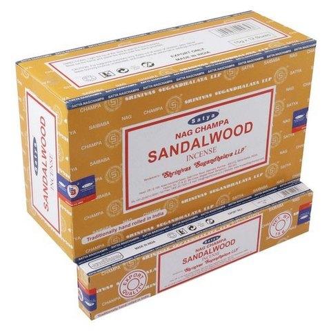 Индийские палочки Satya Nag Campa Sandalowood