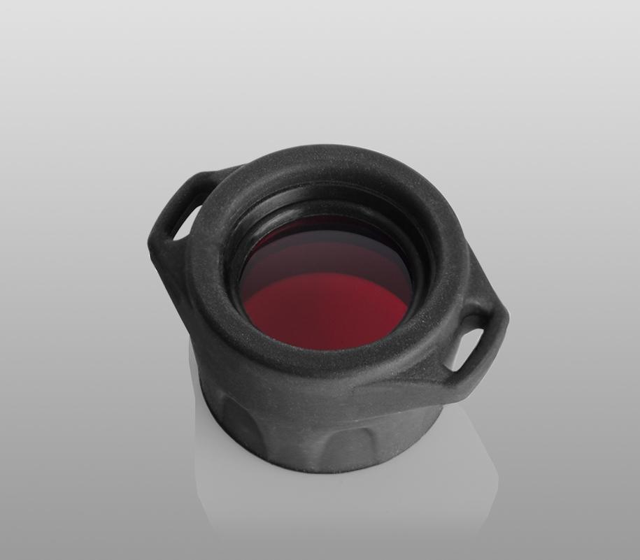 Красный фильтр Armytek для фонарей Prime/Partner - фото 3