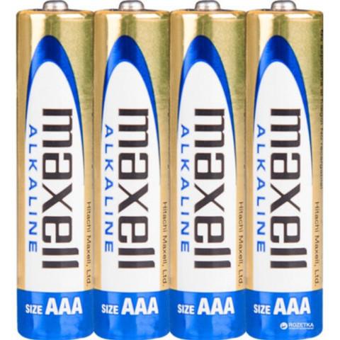 Батарейки Maxell Alkaline LR03, AAA (4/40/240)