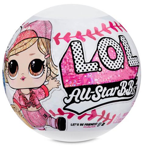ЛОЛ Все Звезды Бейсбола Серия 1 Блестящие - Розовая Команда