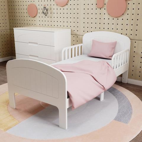 Кровать подростковая Феалта-baby Вена Белая