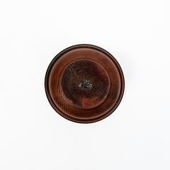 Винный столик из Сибирского Кедра со съемной чашкой, фото 5