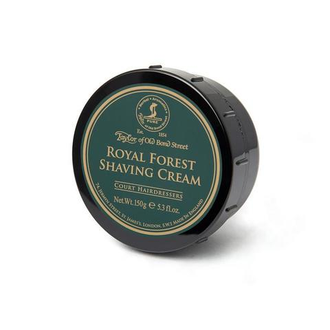 Мыло/крем для бритья Taylor of Old Bond Street Royal Forest 150 гр