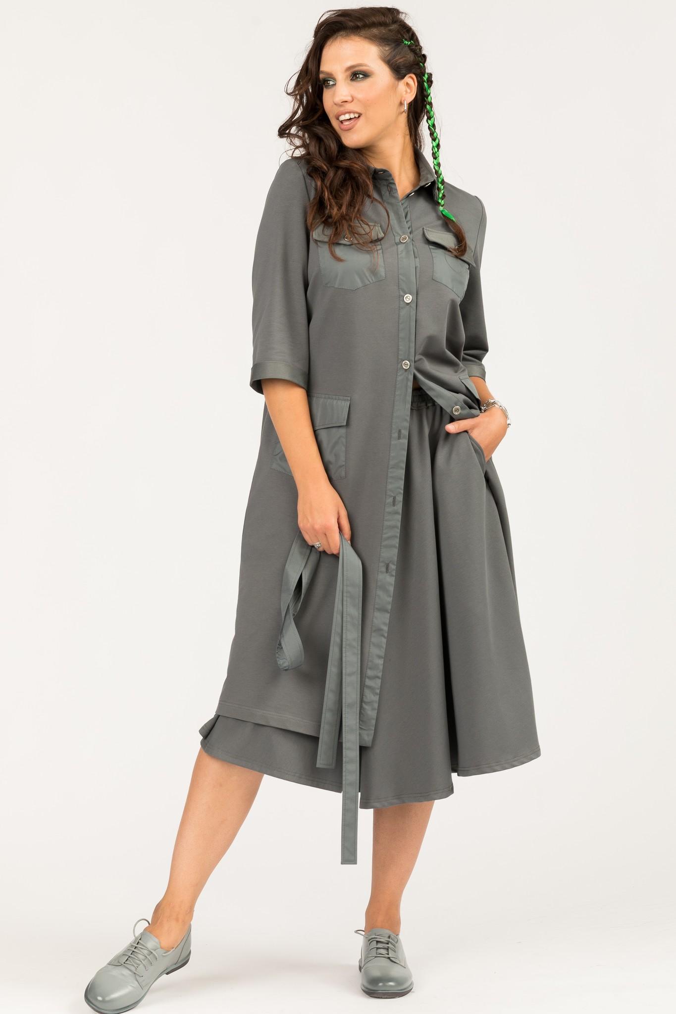 5527 Платье-тренч